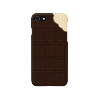 板チョコ Smartphone cases