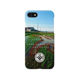 相馬田んぼアート2016 Smartphone cases