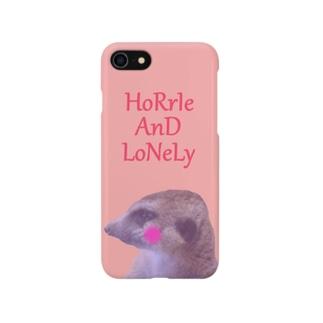 Cutie Meerkat (ミーアキャット) Smartphone cases