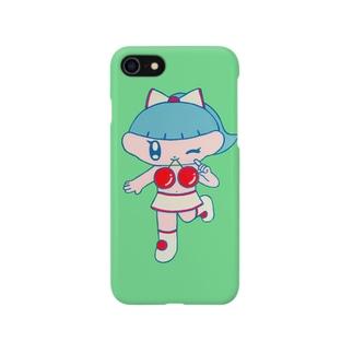 さくらんぼギャル Smartphone cases