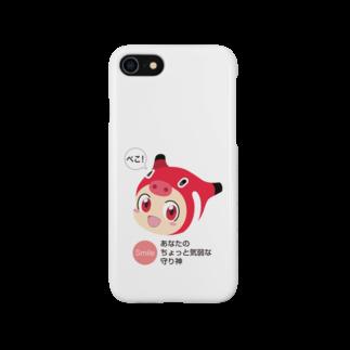 赤べこちゃんの赤べこちゃん Smartphone cases