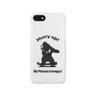 お急ぎのツキノワグマ Smartphone cases
