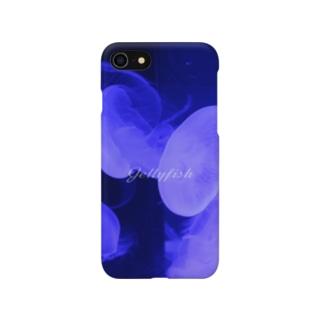 ふわふわクラゲのスマホケース Smartphone cases