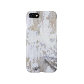 ホワイトペイント Smartphone cases