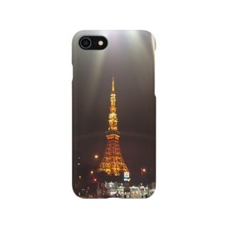 わざとらしい東京① Smartphone cases