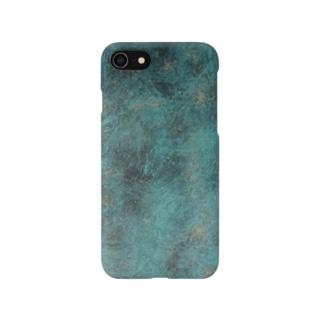 グリーンアイアン Smartphone cases