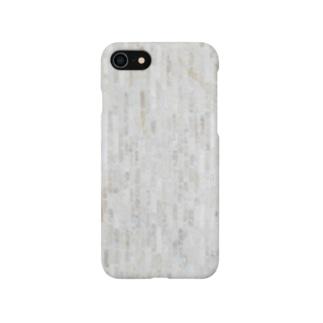 淡い色の石張り Smartphone cases