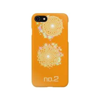 No.2 orange Smartphone cases