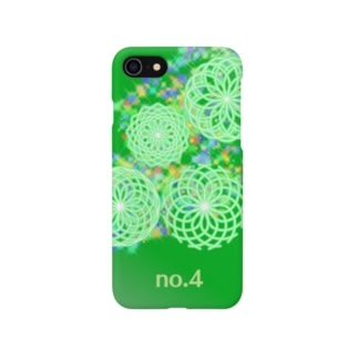 No.4 green Smartphone cases