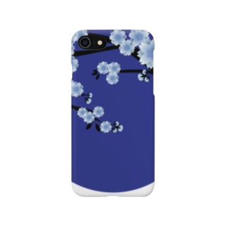 青月【寒桜】 Smartphone cases