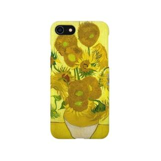 ゴッホ/ひまわり Vincent van Gogh / Sunflowers Smartphone cases