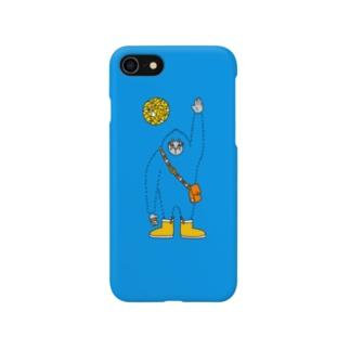 うすくらやみの雪男 Smartphone cases