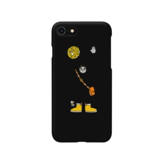 くらやみの雪男 Smartphone cases