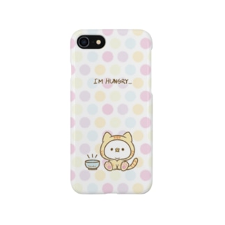 腹ペコにゃんタロー Smartphone cases