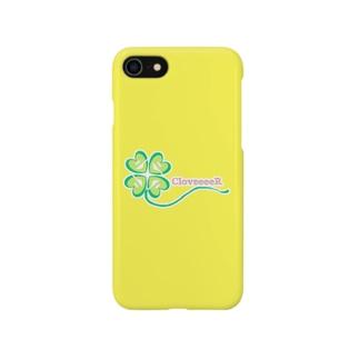 CloveeeeR iPhoneケース Yellow Edition. Smartphone cases