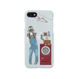 思春期ガスマスク Smartphone cases