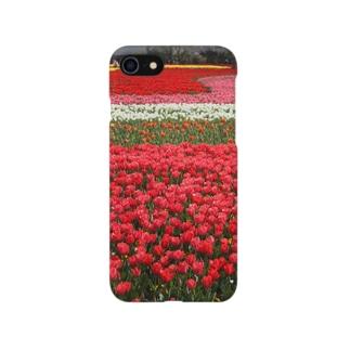 お花畑 Smartphone cases