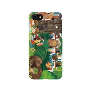 知床の山の生きものたち Smartphone cases