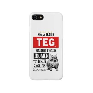 テグタンポスター Smartphone cases