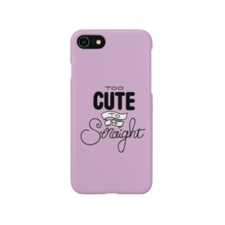 TooCuteToBeStraight Smartphone cases
