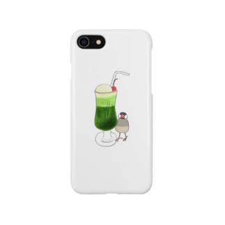 ぶぶ&クリームソーダ Smartphone cases