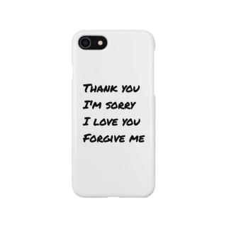 M_M_Mのありがとう*ごめんなさい*あいしてるよ*ゆるしてください Smartphone cases
