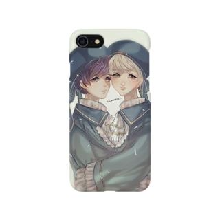 双子天使の聖歌隊 Smartphone cases