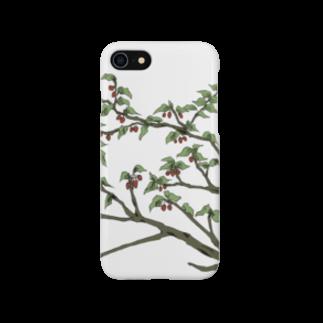 senriの赤い実のなる木 Smartphone cases