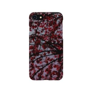 ムハンマド@石油王同好会の桜スマホケース Smartphone cases