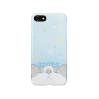 ブルーソーダ☆おまめ Smartphone cases