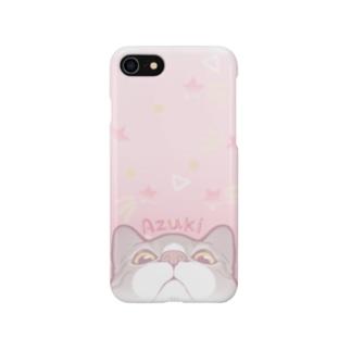ピンクソーダ☆あずき Smartphone cases