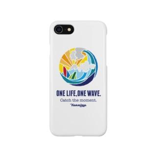 One life, One wave.(カラー) スマートフォンケース