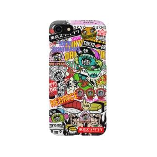 東京スシダラケスマホケース Smartphone cases