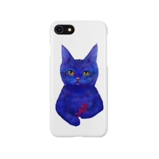 Blue Tabby Smartphone cases
