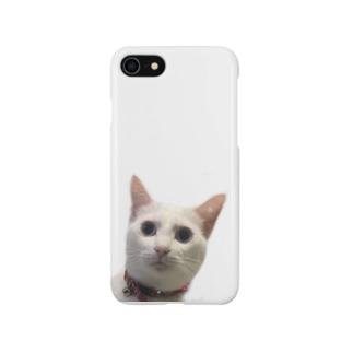 しらすの真顔 Smartphone cases