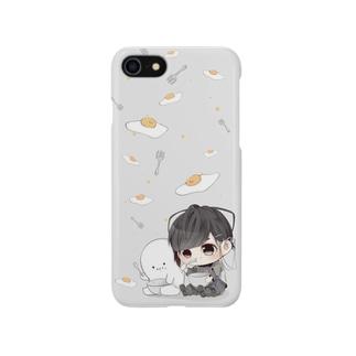ヒゲとマロ谷 Smartphone cases