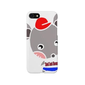 赤ぼうずーみ Smartphone cases