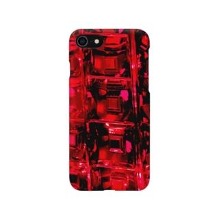 てんとう虫のレッドクリスタル Smartphone Case