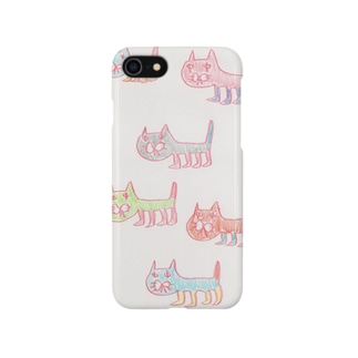 こぐまデザイン ねこちゃんケース Smartphone cases