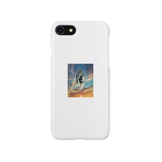 プレイングハンド スマートフォンケース🌴 Smartphone cases