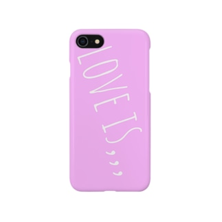 LOVE IS Smartphone cases