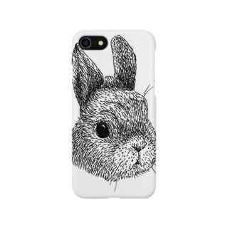 うさぎさんのお顔 Smartphone cases