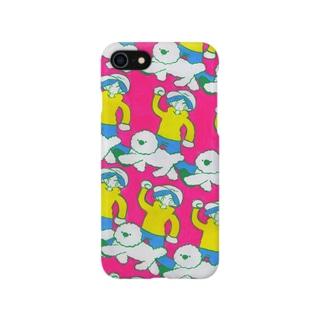 おさんぽカバー Smartphone cases