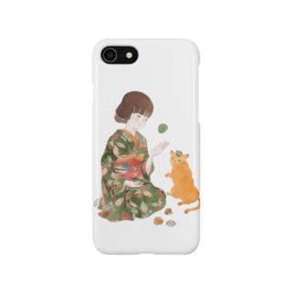 お手玉猫 Smartphone cases