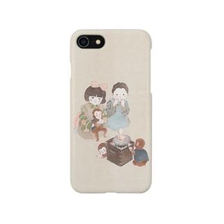おもち焼けたかな Smartphone cases