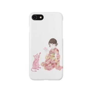 あやとり猫 Smartphone cases