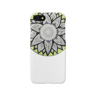 お花CD Smartphone cases
