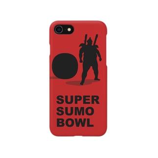 SUPER SUMO BOWL Smartphone cases
