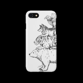 Acabane* Shopの猛獣ブレーメン(simple)スマートフォンケース