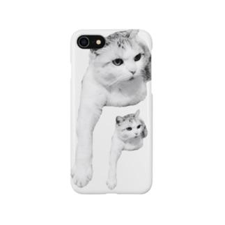 にひきのみゅう Smartphone cases